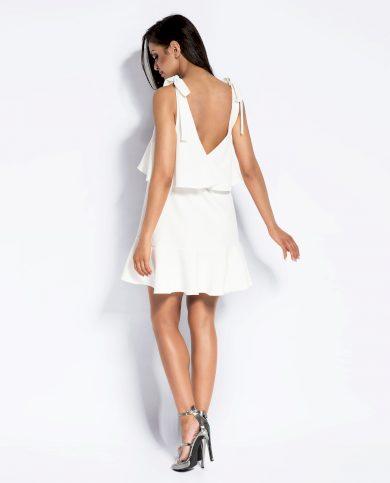 Letní šaty Lia s volánkem a vázáním na ramenou DURSI