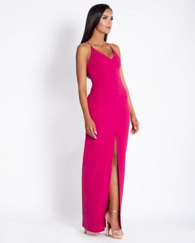 Dlouhé večerní šaty Elisa s tenkými ramínky DURSI