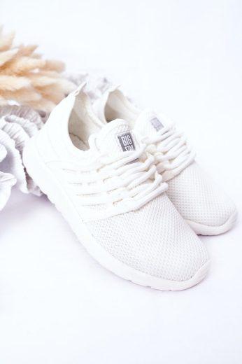 Dětské Sportovní Obuv Sneakersy Big Star HH374214 Světle Modré