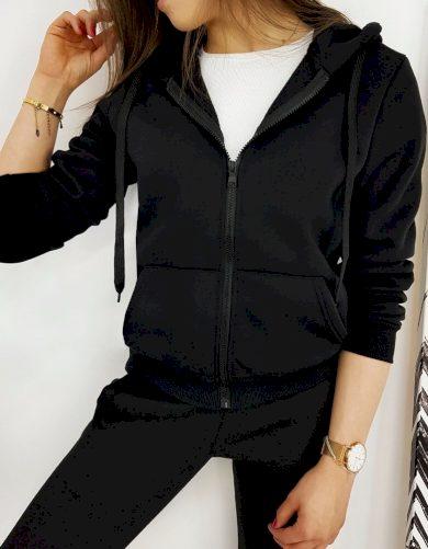 Dámská mikina VICTORIA v černé barvě