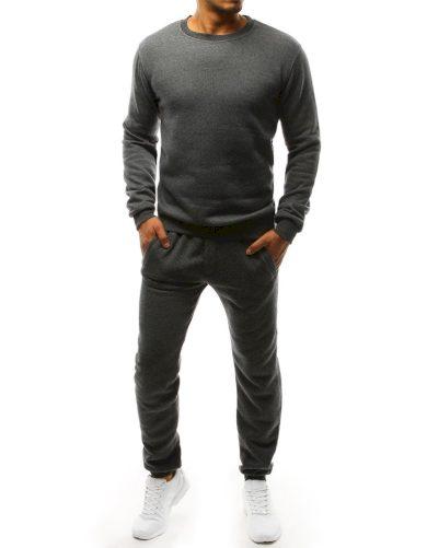 Pánská tepláková souprava mikina s kulatým výstřihem a kalhoty