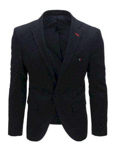 Vlněné sako pánské modré neformální sako pro pány