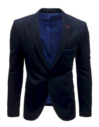Každodenní sako s podšívkou pánské v tmavě modré barvě