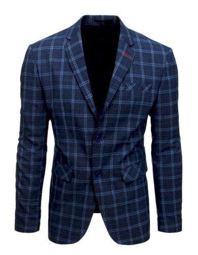 Pánský vzorované sako neformální styl sako kostkované