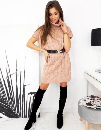 Dámské šaty/sweter DUO růžová