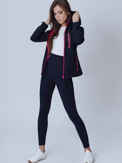 Sportovní přechodná bunda dámská s přizpůsobeným střihem