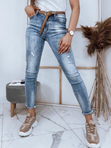 Dámské riflové kalhoty džíny KARLA modré Dstreet