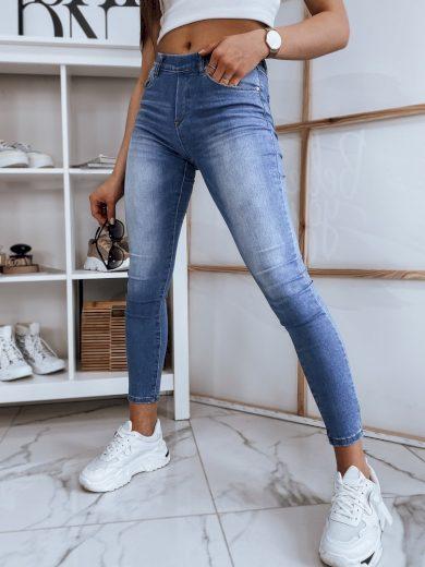 Dámské riflové kalhoty džíny WANA modré Dstreet