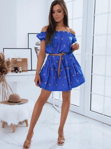 Dámské šaty NILDA modrá Dstreet