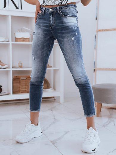 Dámské riflové kalhoty džíny DARA modré Dstreet
