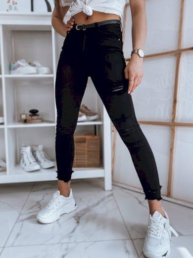Dámské riflové kalhoty džíny FALIA černé Dstreet