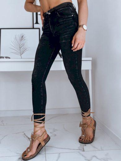Dámské riflové kalhoty džíny NEVADA černé Dstreet