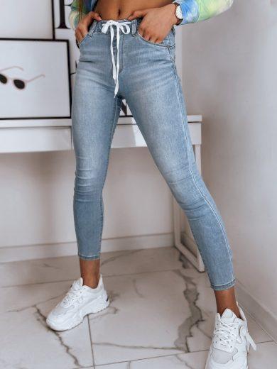 Dámské riflové kalhoty džíny WERA modré Dstreet