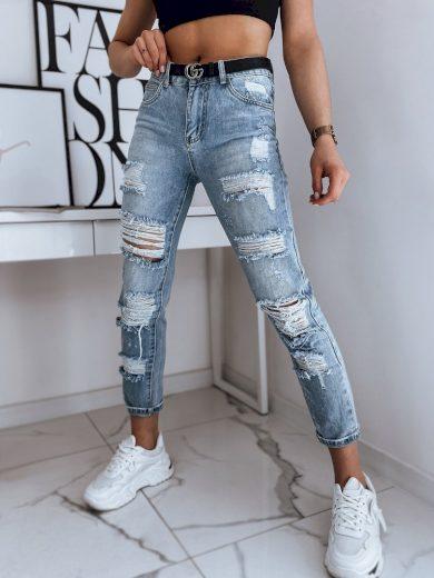 Dámské riflové kalhoty džíny SAW modré Dstreet