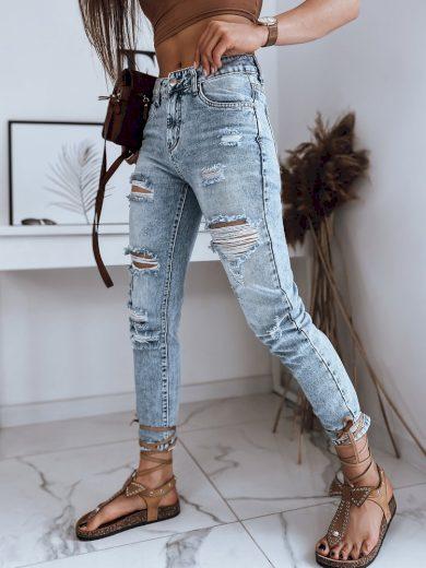 Dámské riflové kalhoty džíny ASMARA modré Dstreet