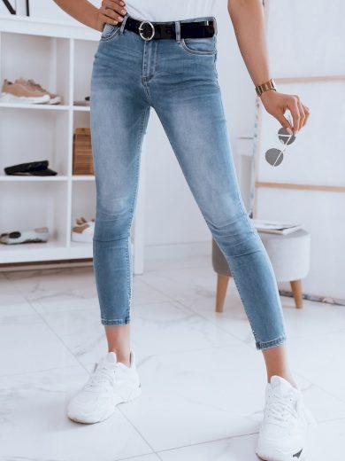 Dámské riflové kalhoty džíny BONVI modré Dstreet