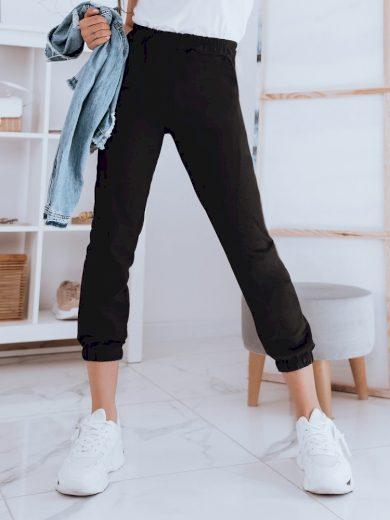 Kalhoty dámské teplákové STIVEL brzoskwiniowe Dstreet