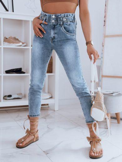 Dámské riflové kalhoty džíny ENSIRO modré Dstreet