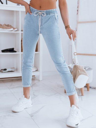 Dámské riflové kalhoty džíny CASSI modré Dstreet