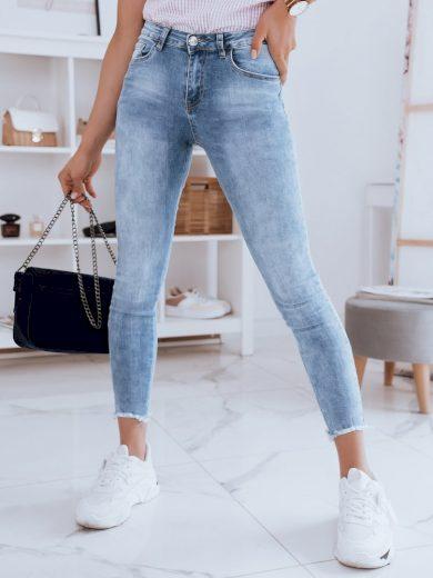 Dámské riflové kalhoty džíny ARIVI modré Dstreet
