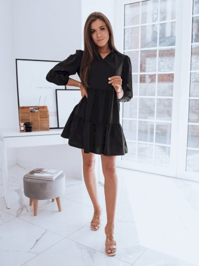Dámské šaty SALLENTA v černé barvě Dstreet