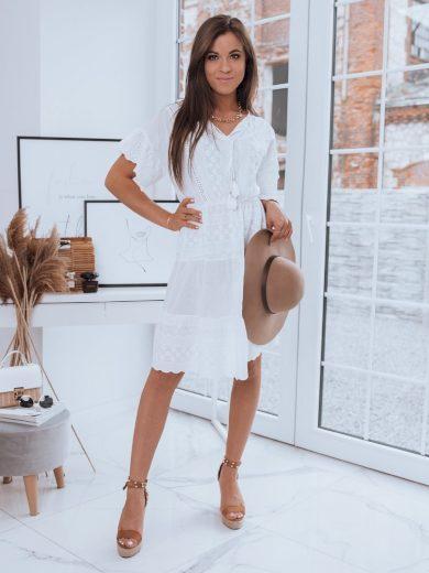 Dámské šaty LESSI bílá barva Dstreet