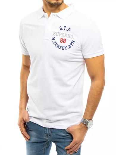 Pánské polo tričko tmavě modré Dstreet PX0418
