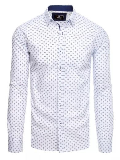 Pánská košile bílá Dstreet