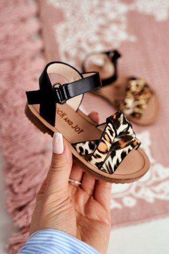 Dětské Sandály pro Dívky leopardí Mimi