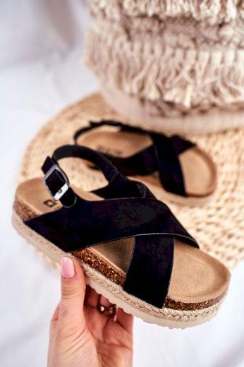 Dětské sandály Big Star černé FF374168