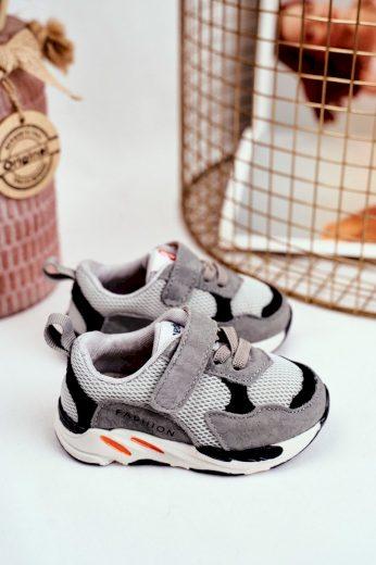 Dětská sportovní obuv se suchým zipem růžové Yetto