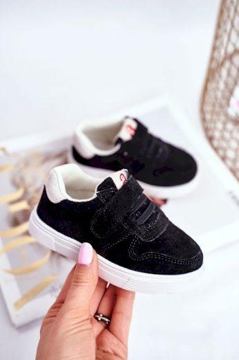 Dětská tenisky černé Trelmo