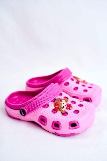 Dětské Nouzováky Růžové Kroks Dívka