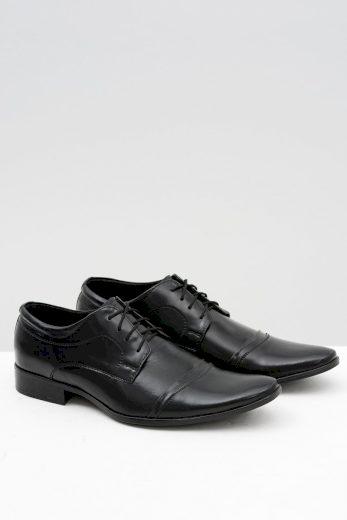 Pánské černé formální boty Willy