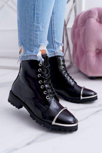 černé dámské boty