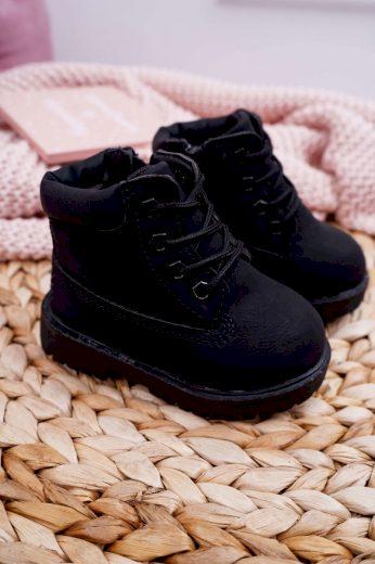 Dětské boty traper Zlate růžove Dexter