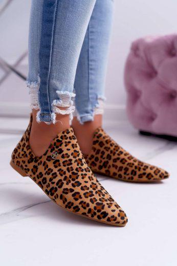 Lu Boo Boty s Výřezy Leopard Chelsea