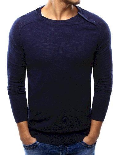 Pánský svetr tmavě modrý