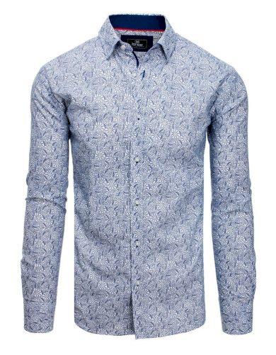 Luxusní pánská košile s dlouhým rukávem bílá
