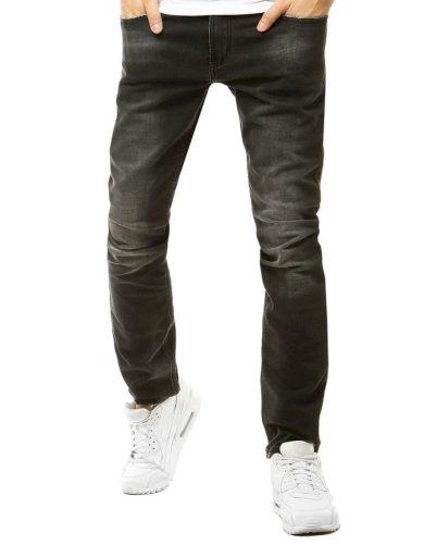 Pánské riflové kalhoty džíny tmavě šedé