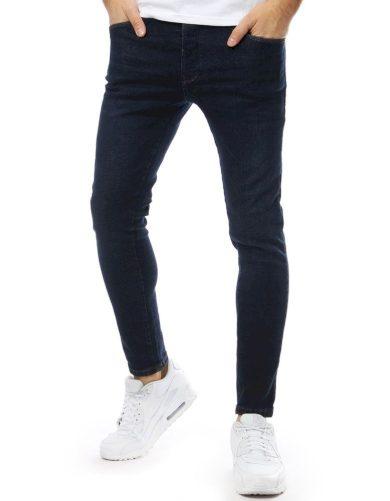 Pánské riflové kalhoty džíny tmavě modré