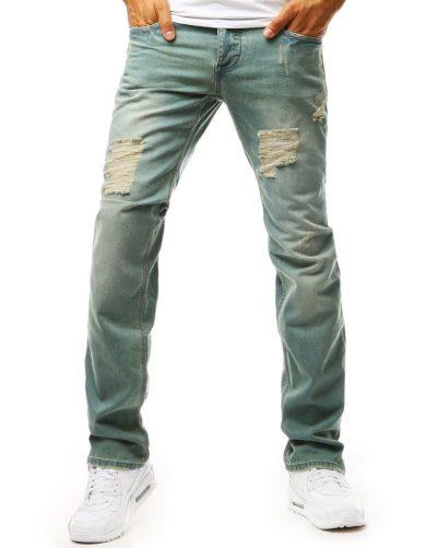 Pánské džíny s trhlinami