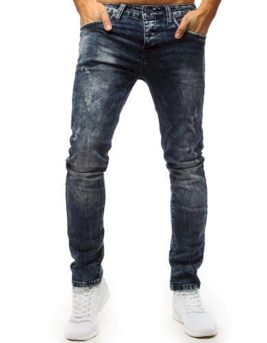 Pánské džínové kalhoty rifle modré