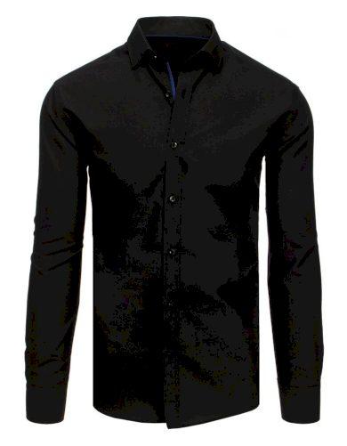 v černé barvě elegantní Pánská košile