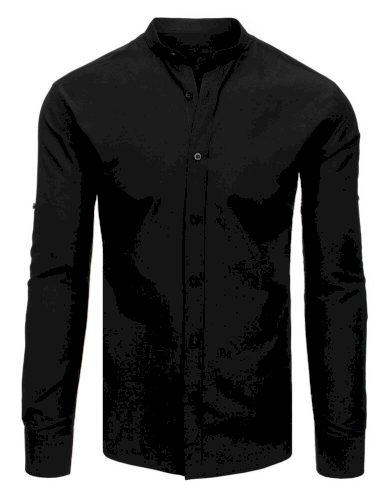 elegantní Pánská košile v černé barvě