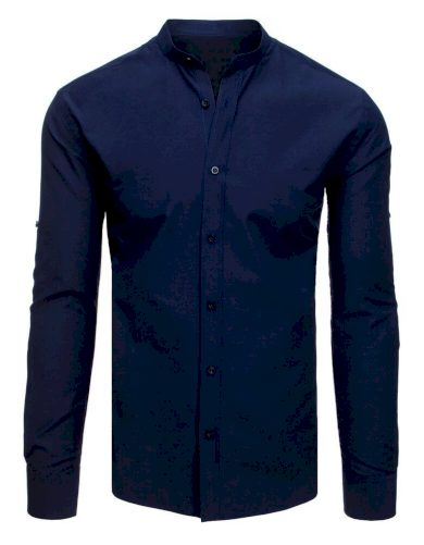 elegantní Pánská košile tmavě modrá
