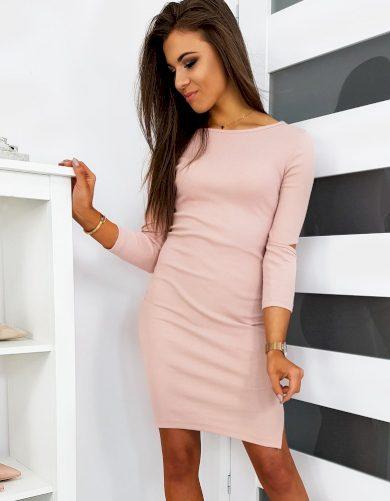 Pouzdrové šaty s rozparkem LARA