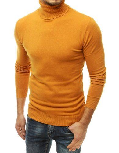 Jemný a příjemný pánský svetr s rolákem