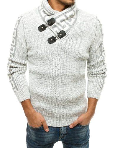Pánský svetr vlněný smetanová