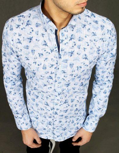 Pánská vzorovaná košile s potiskem malých květů